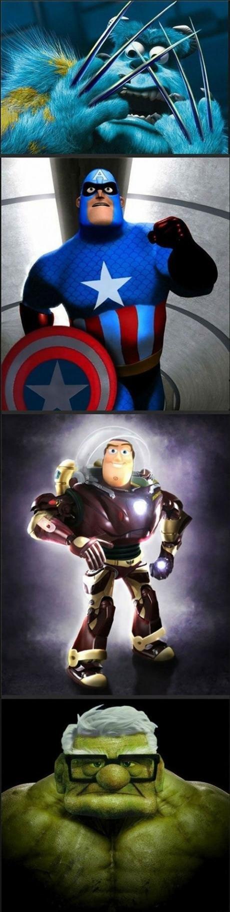Marvel + Pixar. Avengers Assemble The Musical. Marvel + Pixar Avengers Assemble The Musical