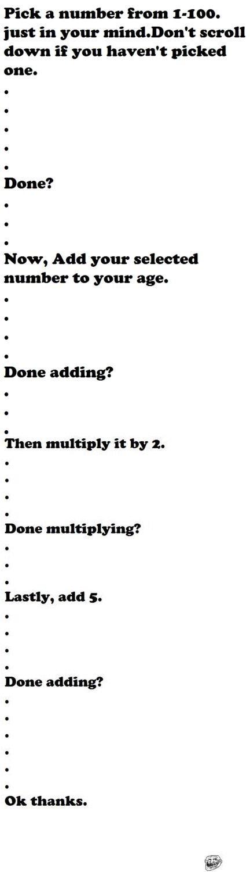 Math Tricks Are Fun. Get out of my head!. Math Tricks Are Fun Get out of my head!