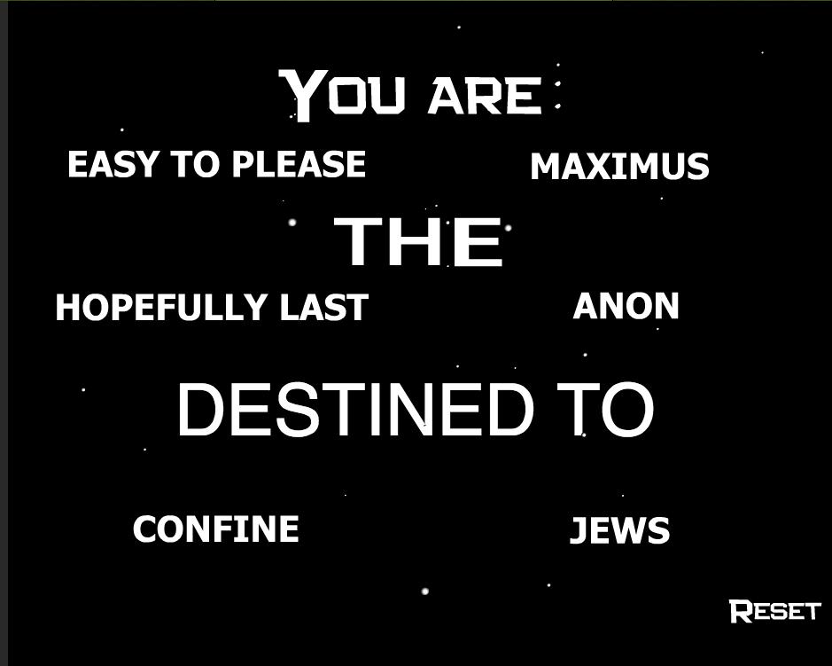 Maximus. description. EASY To PLEASE MAXIMUS I THE' HOPEFULLY LAST ANON CONFINE . mus RESET know your destiny