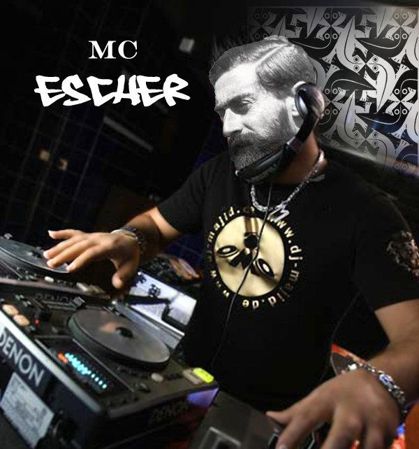 MC Escher, His true calling.. It was in his name all along.. MC escher lol funny haha pun punny Art DJ emcee