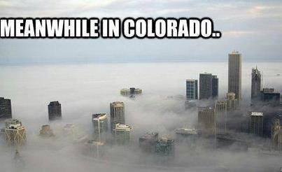 Meanwhile in Colorado. Washington too, I know. colorado weed legalized