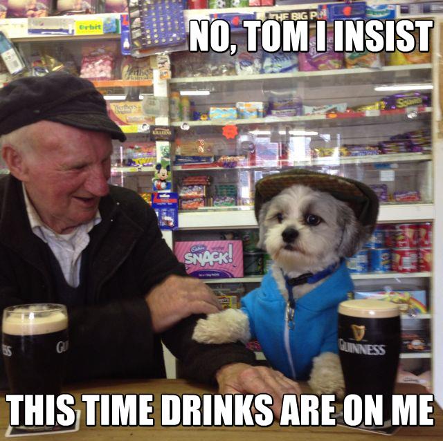 Meanwhile in Ireland.... . Meanwhile in Ireland