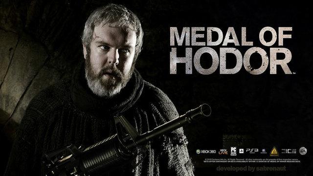 Medal of Hodor. Hodor, Hodor... Hodor . HODOR game of thrones