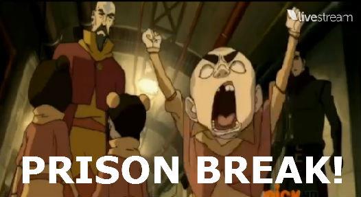 Meelo's Prison Break. Can anyone make a gif out of this? lol. 1? diver/ oae 2 PRISON BREAK!. Here ya go :P Meelo prison Break