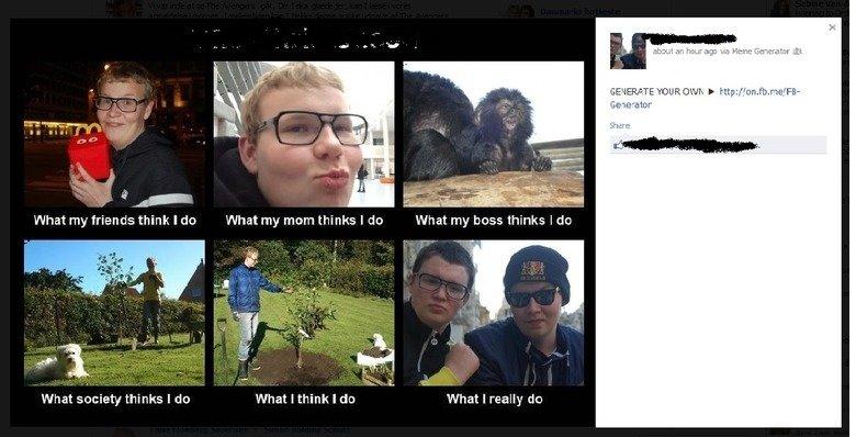 "Meme generator on FB. This new ""meme generator"" makes no sense.. The Game"