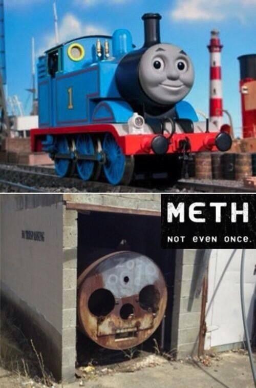 meth. .. ita not meth hes dead Meth
