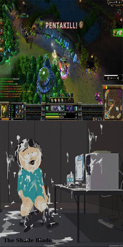 MFW Pentakill. ;).. lolok pentakill League of Legend lol Video Games