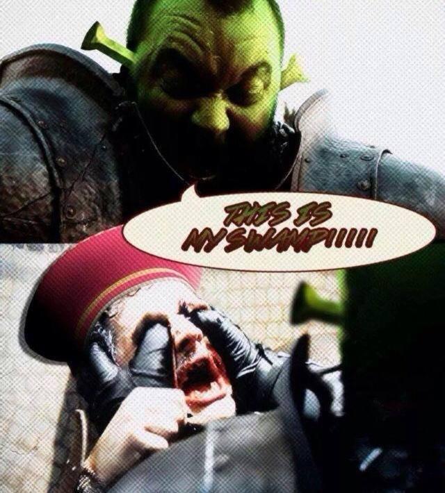 Mind = Blown. . Shrek is love