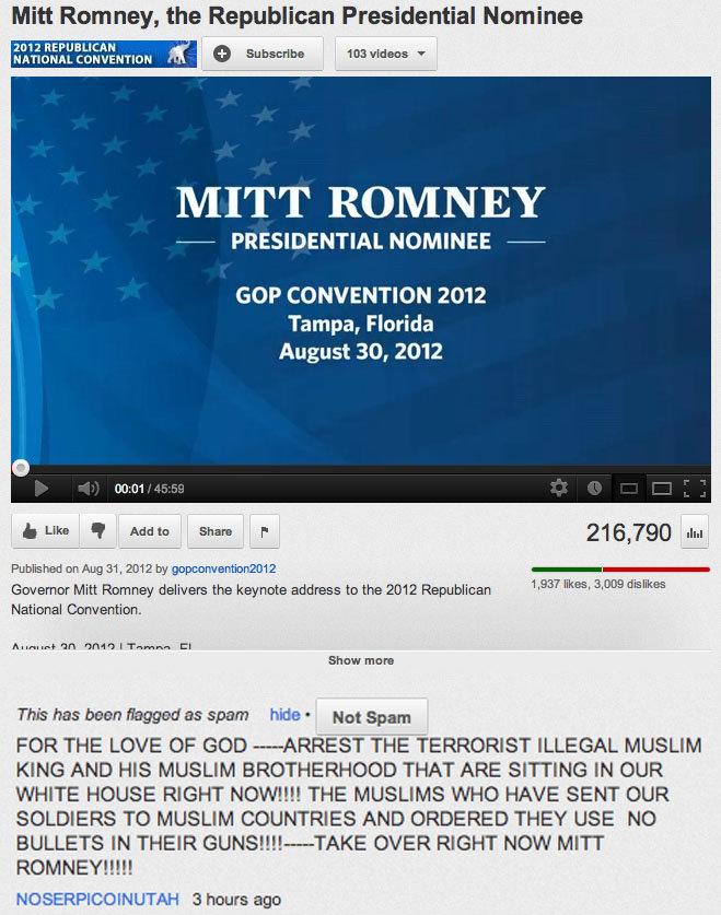 Mitt Romney Youtube Comment.... Funny youtube comment.... Mitt Rom ney, the Republican Presidential Nominee REPUBLICAN can '' ' hgttec 103 hald. T MITT ROMNEY Z mitt romney funny mormon youtube republican candidate President