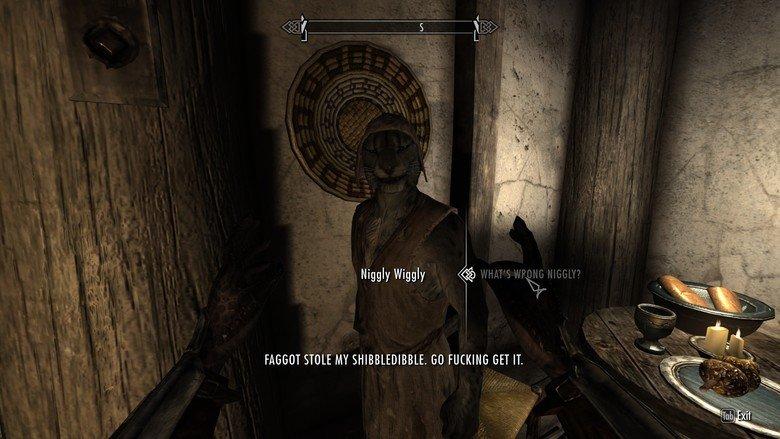 Modding Skyrim. WIGGLY'S SHIBBIDLEDIBBLE.. FAGGOT HOLE MY . (ill FUCKING GET IT.. You just portrayed every lowlevel WoW quest ever. skyrim modding