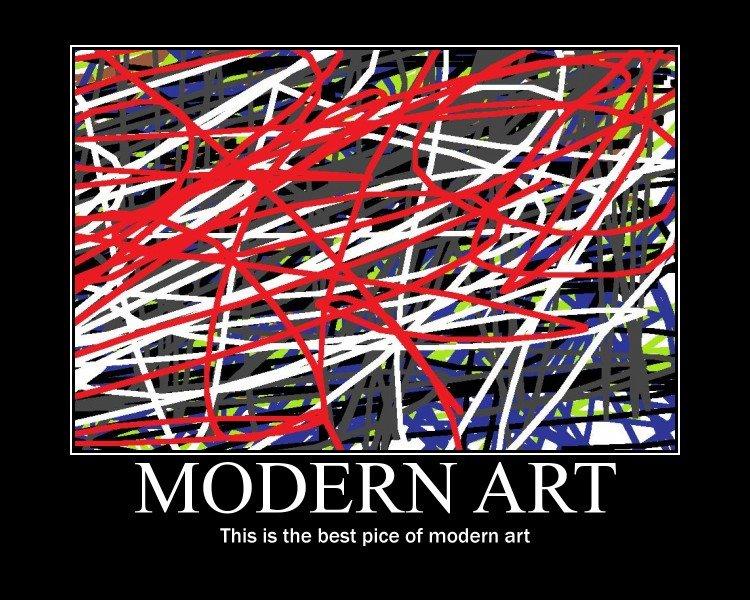 "Modern art. best art ever. This is the best pics of modern art. yeah true ""itsa master peice"" KFC niggers modern Art Donkey africa India MOOO"