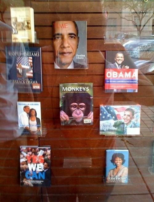 Monkey-Obama. .. Racism at its finest Monkey-Obama Racism at its finest