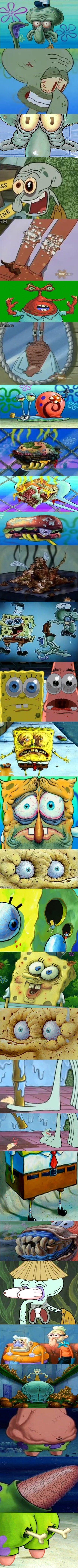 Morbid Spongebob Comp. Assembled by Welfarekid (me :3).. spongebob is for kids >.> suck a nigga Dick or something
