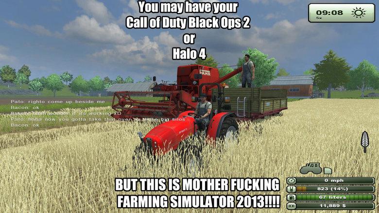 MOTHER FUCKING FARMING SIMULATOR. YEYEYEYEYEYEYEYEYE LIVE ACTION FARMING SIMULATOR! NON STOP FARMING ACTION, YEYEYEYEYEYEYEYEYE!.. But can you plow your mom? MOTHER FUCKING FARMING SIMULATOR YEYEYEYEYEYEYEYEYE LIVE ACTION SIMULATOR! NON STOP YEYEYEYEYEYEYEYEYE! But can you plow your mom?