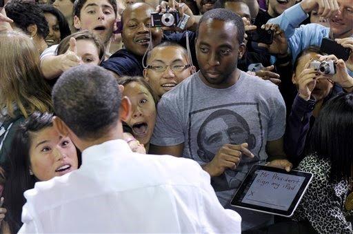 Mr. President, sign my iPad!. .. Successful Negro is successful. Mr President sign my iPad! Successful Negro is successful