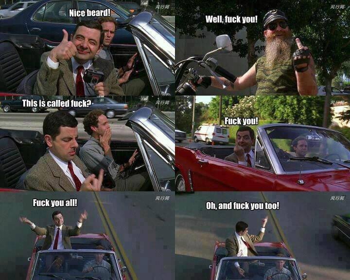 Mr.Bean. . Funk mm aall gun. tsay . funny mr Bean fuck You