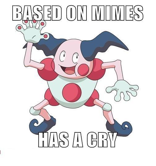 Mr.Mime. oooh pokémon.. You shouldn't expect the japaneese to always make sense. Pokemon