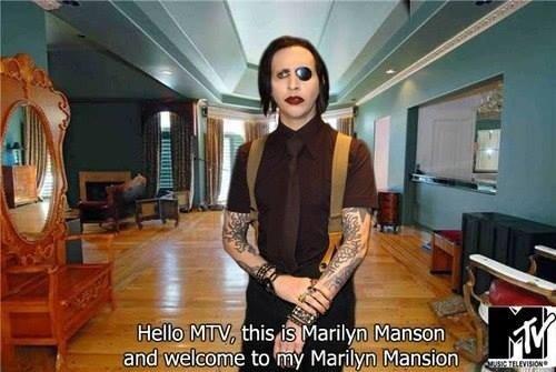 MTV. .. I bet it was built by Marilyn Masons. MTV I bet it was built by Marilyn Masons