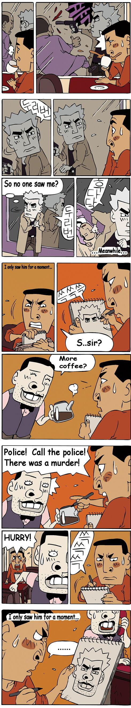 Murder Witness. Source . Polical 'ii? police!. lol korean comic
