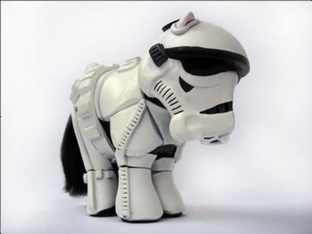 My little storm trooper. . My little storm trooper