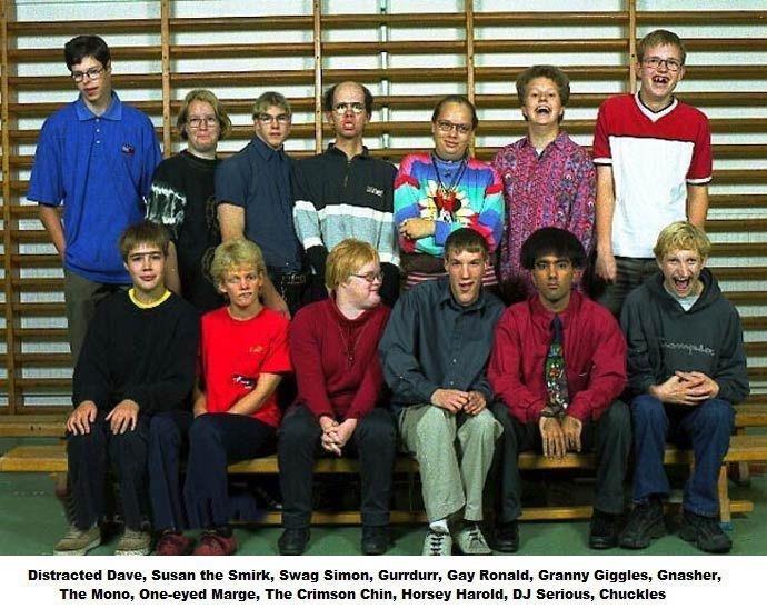 My School picture ;). gurrdurr. Ktl' irl? .'; Dave, Susan the Smirk, Swag Simon, Gurrdurr, may Ronald. Granny Giggles, E-' m. asher_. The Menu, ', i. Marge, The crimson chin chuckles