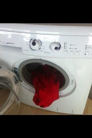 my washing machine lost its mind. too much detergent I think. blargh