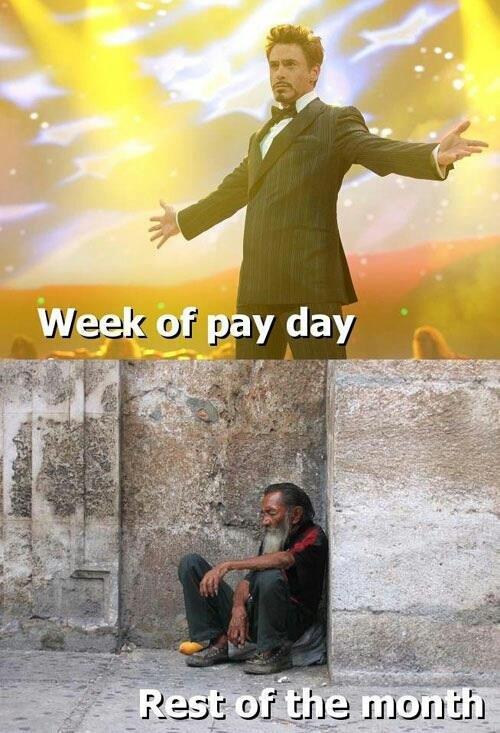 Pay. .. Oh so I turn black when I'm poor? Pay Oh so I turn black when I'm poor?