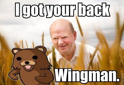 Pedobear got company o:. . pedobear Wingman creepy guy