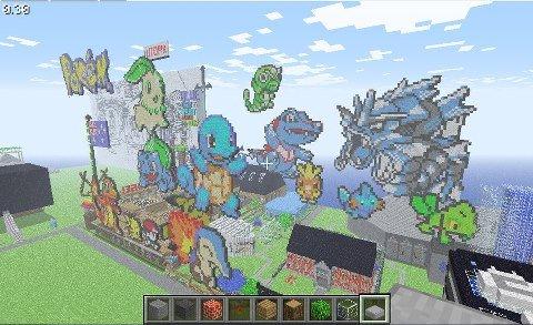 pokemon + minecraft. awesome.. Because nobody has done this before pokemon + minecraft awesome Because nobody has done this before