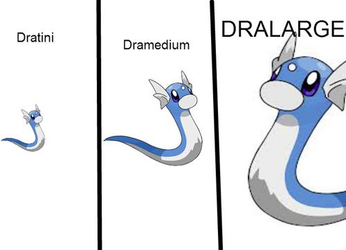 """Pokuhmahn. . Dratini Utmmedium. why not """"DRAGANTIC?"""""""