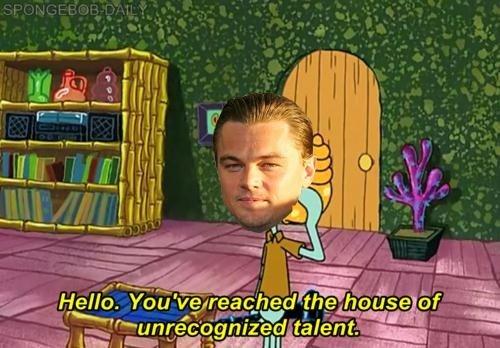 Poor Leo. . Poor Leo