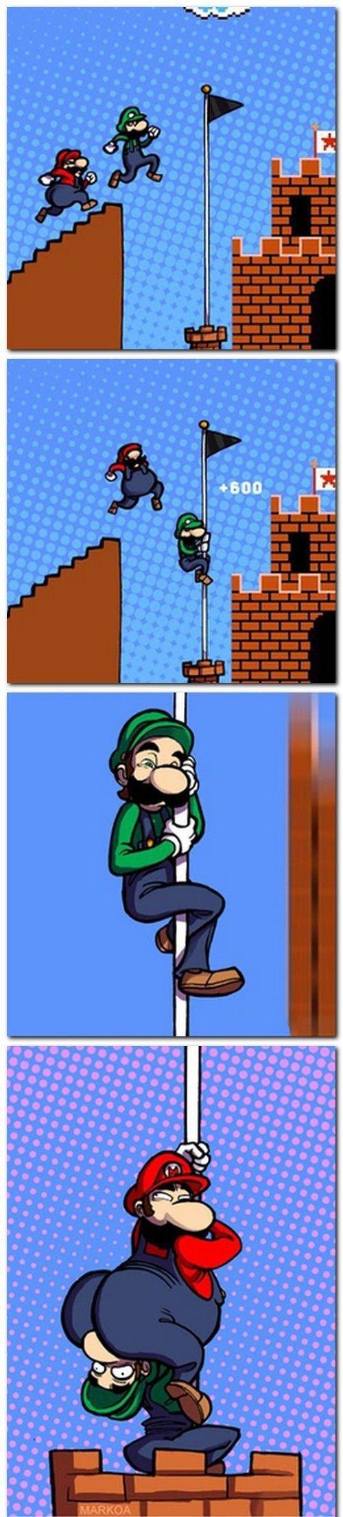 Poor Luigi. .. I will have use for this. adasdasdas