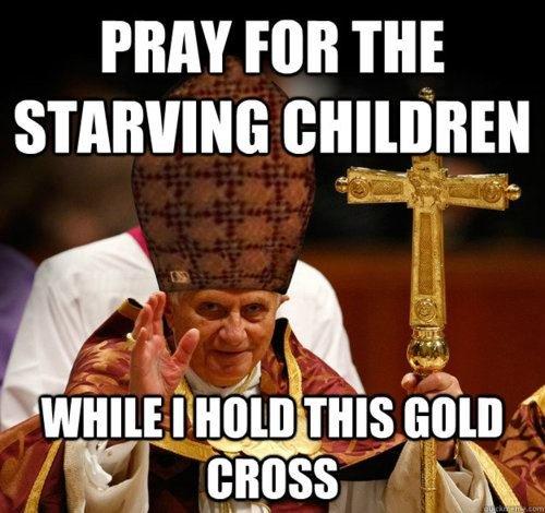 Pope Scum.. . PRAY PM THE STARWING Pope Scum PRAY PM THE STARWING