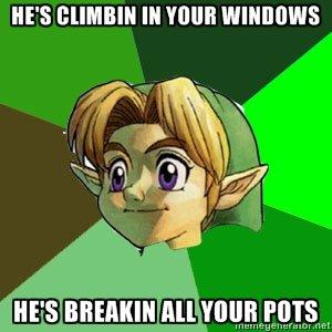 Pot Intruder. . HE' S Ill link breaks all the pots