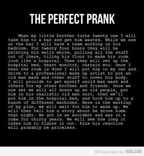 prank. . prank