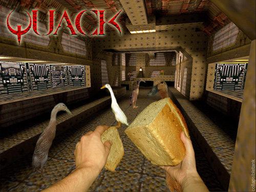 Quack. Better than COD.. I'd play it. Quack Better than COD I'd play it
