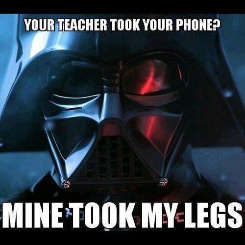 Teachers. . Mmes Darth Vader