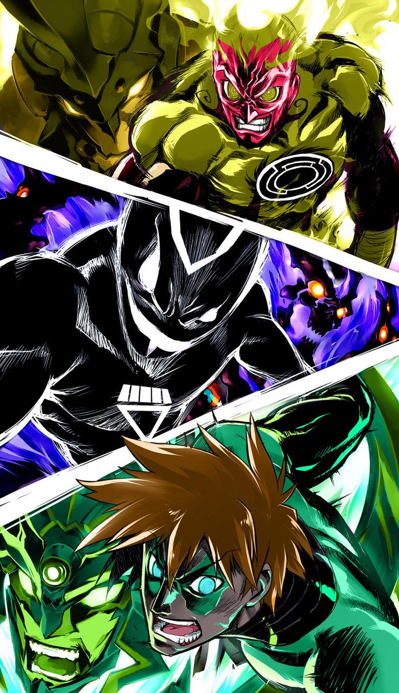 Tengen Toppa Green Lantern. .. mass lagann or gurren effect? Tengen Toppa Green Lantern mass lagann or gurren effect?