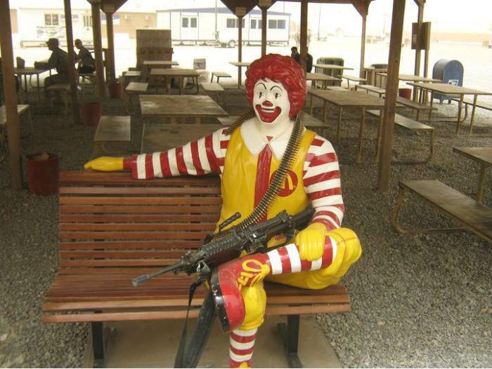 The purchase of McDonalds is mandatory. .. kick ass photo. gif unrelated The purchase of McDonalds is mandatory kick ass photo gif unrelated