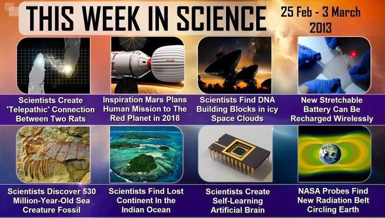 this week in science. .. is death is destruction week science