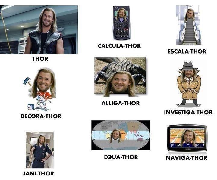 Thor. . CALCU WALTHOR tir, ALLIGATER an