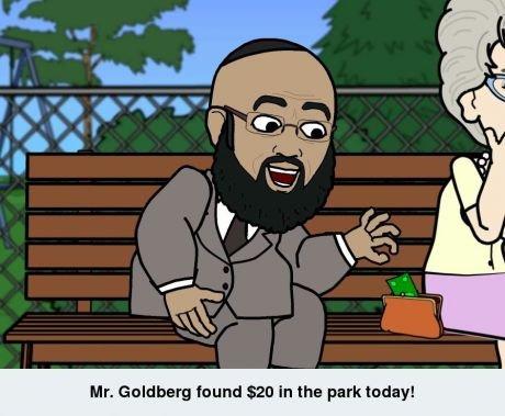 those s know how to make a living. . Hr. Goldberg an in that park today! those s know how to make a living Hr Goldberg an in that park today!