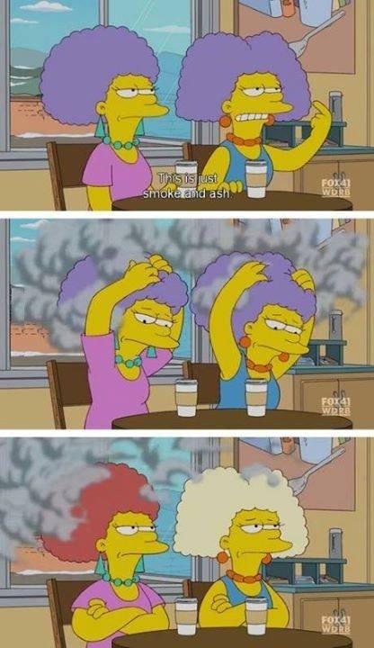 Tlot pwist. Smoke like a chimney.. My whole life has been a lie. Smoke Ash Hair colour sisters