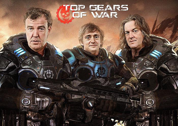 Top Gears of War. . Top Gears of War