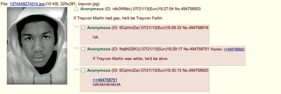 Trayvon Fartin. . If Travyon Martin had gas, he' d be Travyon Farm If Trayvon Martin was white, he' d be alive. white fart