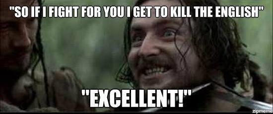Typical Irish film character(Braveheart). . Stl If I TIGHT FIJI! Till] I BETTE Kill THE ' Typical Irish film character(Braveheart) Stl If I TIGHT FIJI! Till] BETTE Kill THE '