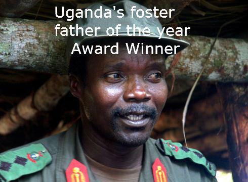 Uganda's Foster Father of the Year. . Kony Uganda foster father