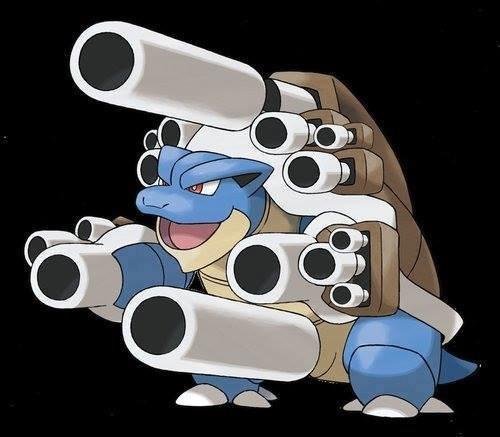 Ultra Blastoise. 2/10 needs more cannons.. >mfw dick cannon blastoise mega ultra super Pokemon X y z