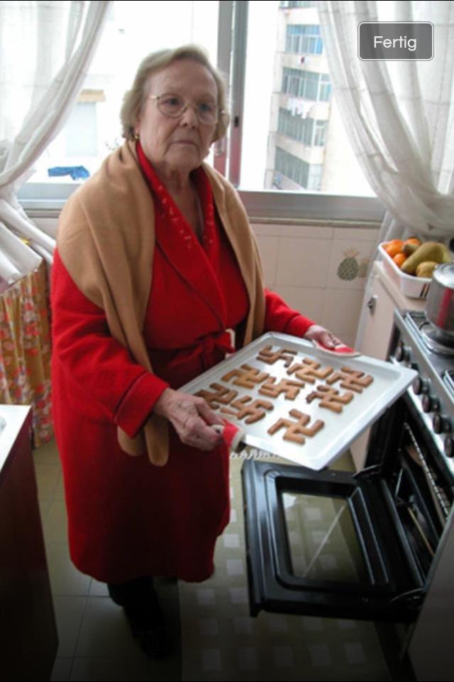 Um grandma. Stahp..                    卐                   卐 卐                  卐 卐 卐  Um grandma Stahp  卐