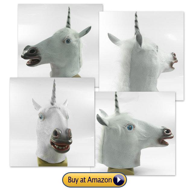 unicorn head mask. do you like it?.. I want to buy one unicorn head mas